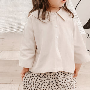 Girls cotton 'Milk' Blouse