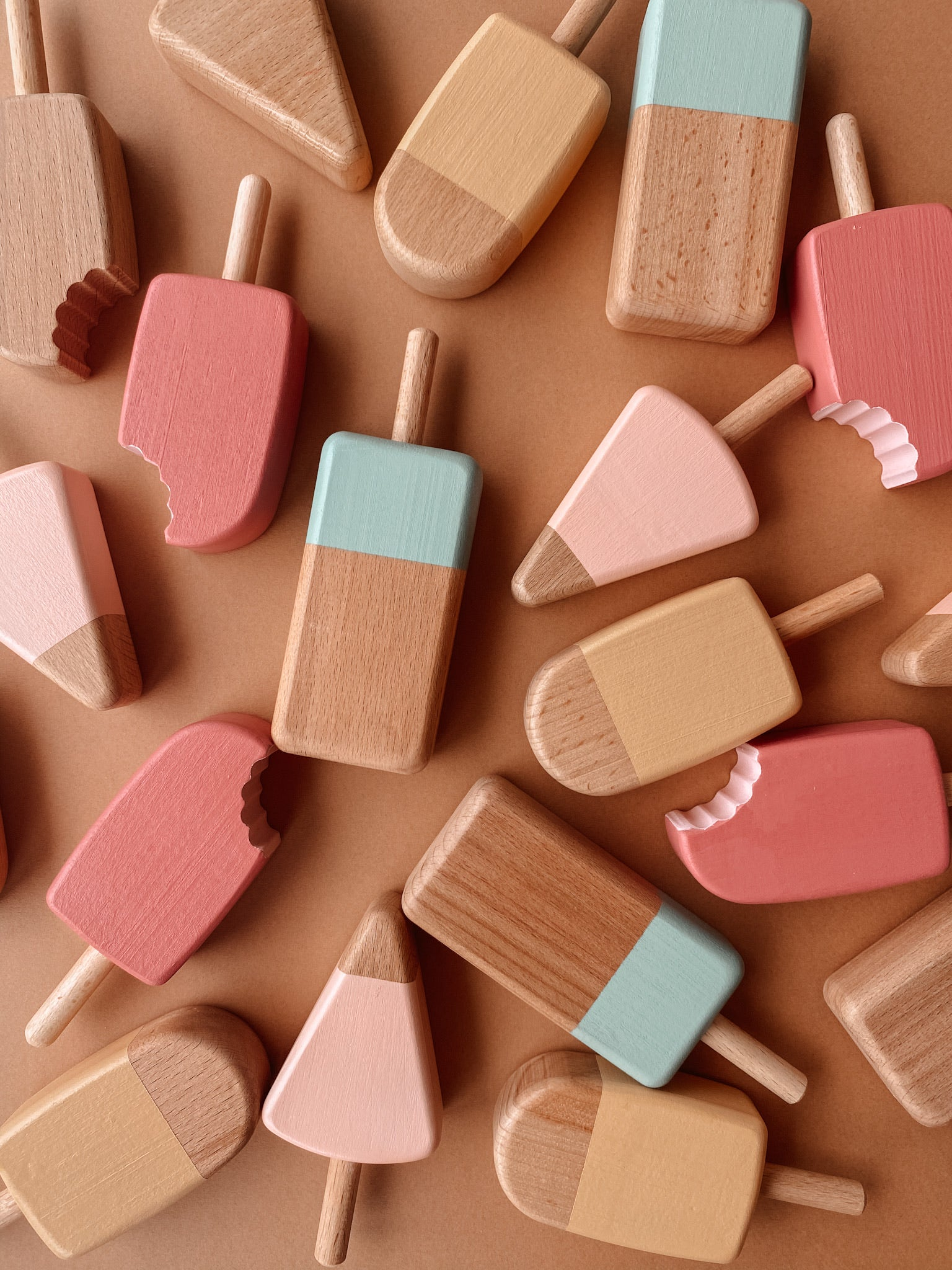 Wooden Handcrafted Lollipops