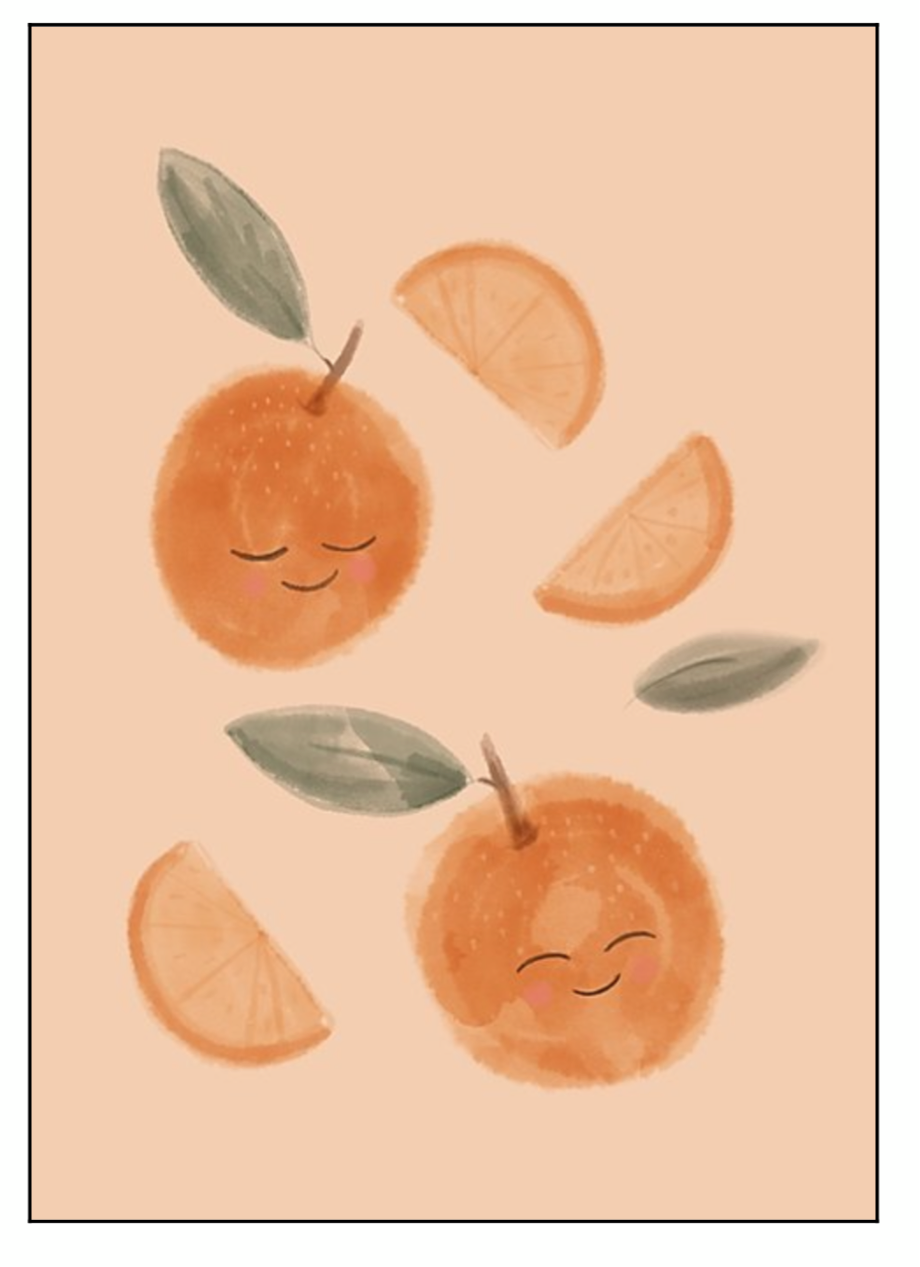Darling Clementine Print