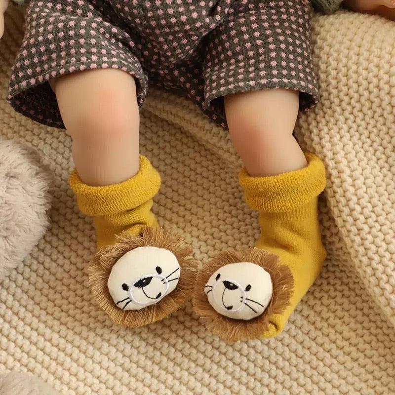 Baby Cub Anti Slip Slippers Socks