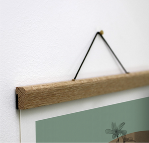 Wooden Magnetic Picture Holder