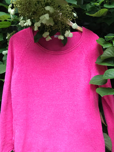 Hot Pink Chenille Sweater