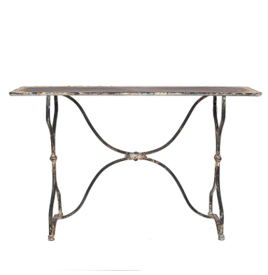 Bistro Metal Table