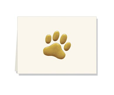 Woof Folded Notecards