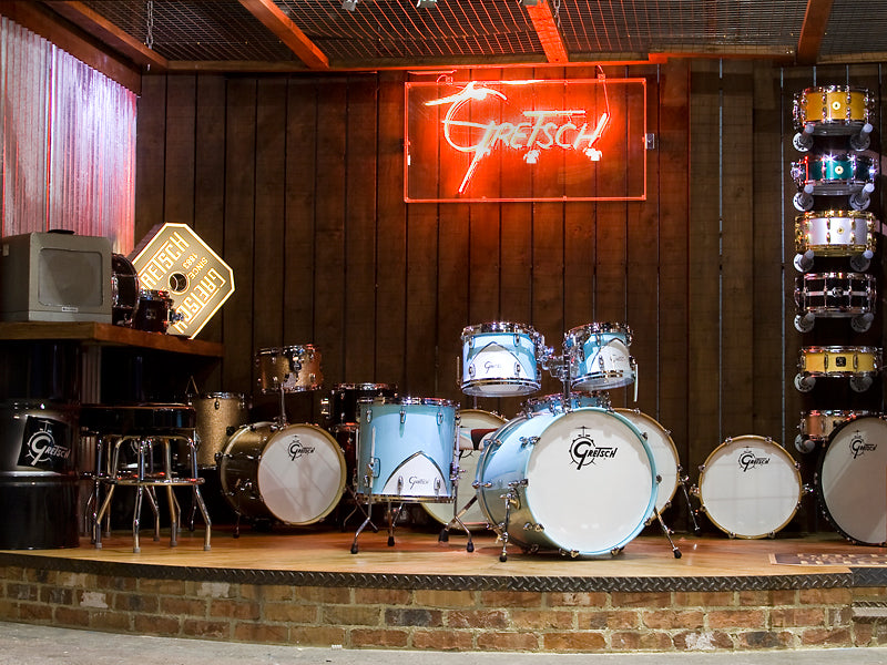 Gretsch Motor City Blue Renown 57 Drum Kit