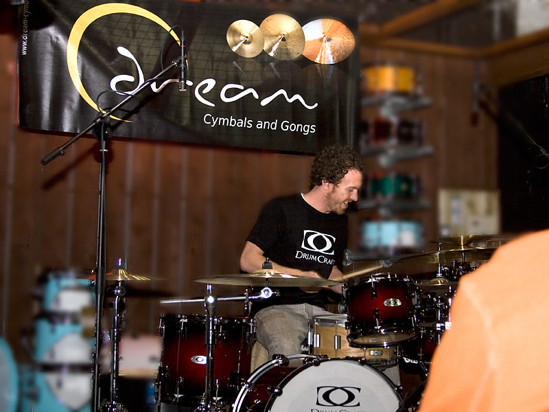 Scott Pellegrom Drum Clinic with Dream Cymbals and DrumCraft drum kit