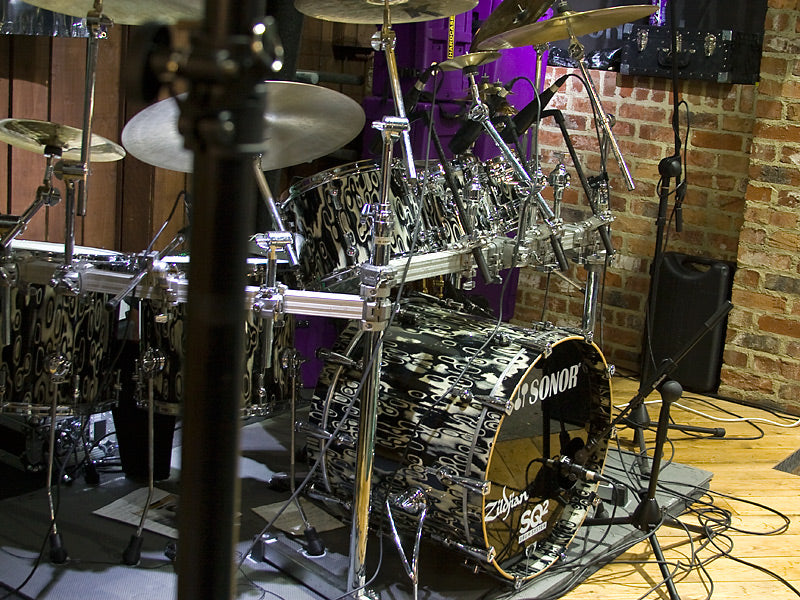 Gavin Harrison Sonor drum kit at Drum Shop UK