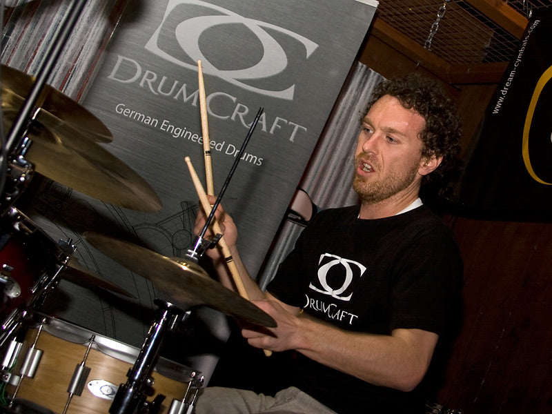 Scott Pellegrom Drum Clinic with Dream Cymbals at Drumshop UK