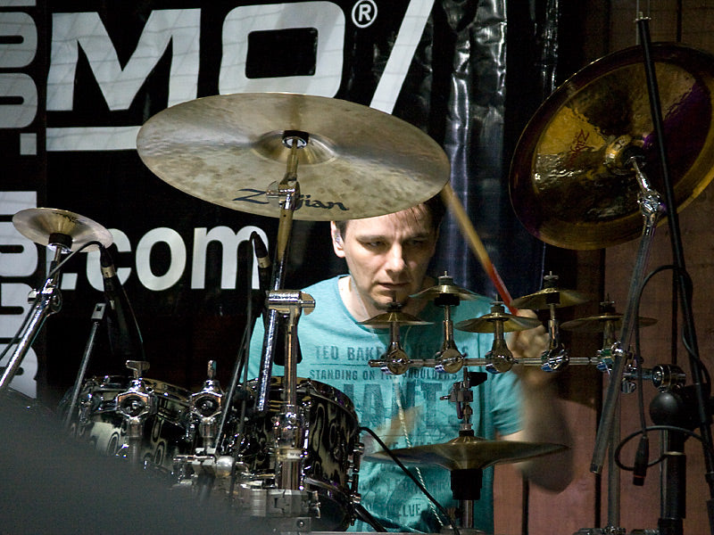 Gavin Harrison at Drumshop UK