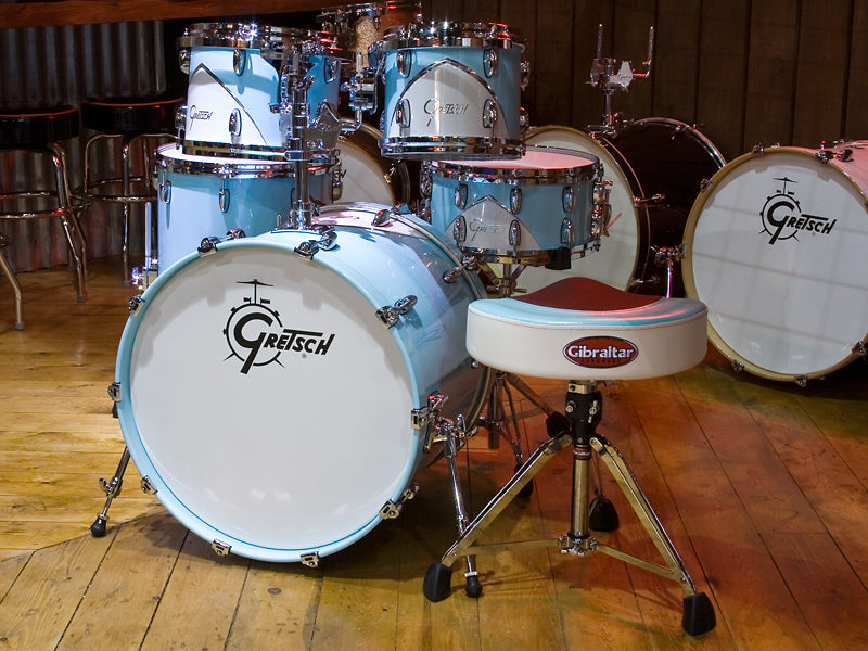 Gretsch Renown Drum Kit with Gibraltar drum throne