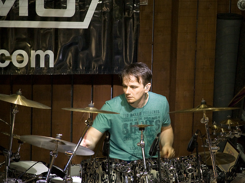 Gavin Harrison drum clinic at Drumshop UK
