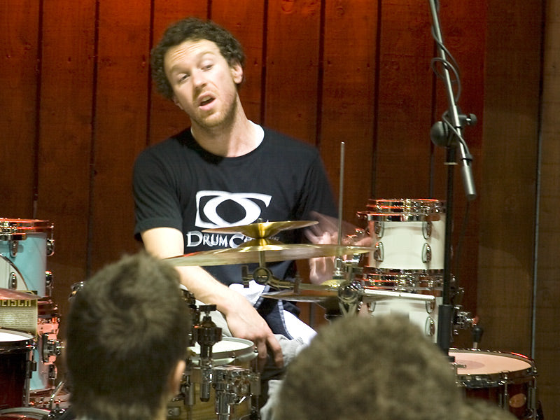 Scott Pellegrom Drum Clinic at Drumshop UK