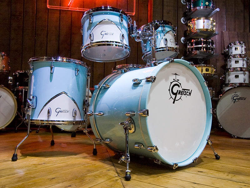 Gretsch Renown Drum Kit in Motor City Blue at Drumshop UK