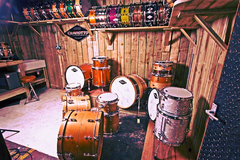 craviotto drums at the drumshop