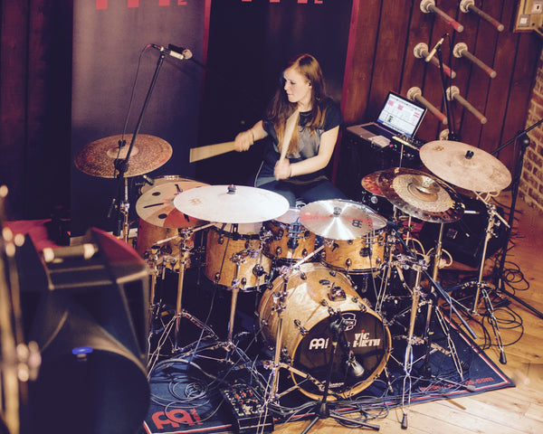 Anika Nilles does Drum Shop UK