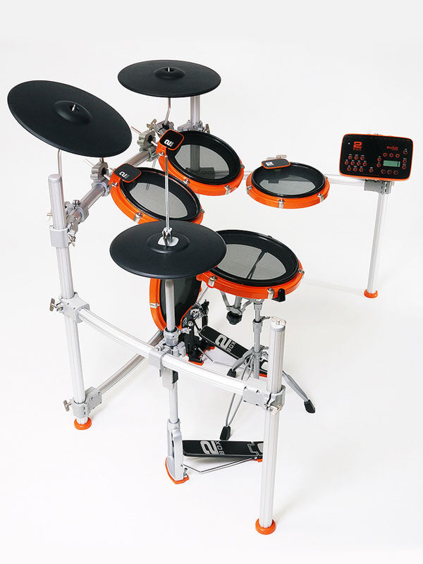 2Box orange electronic drum kit