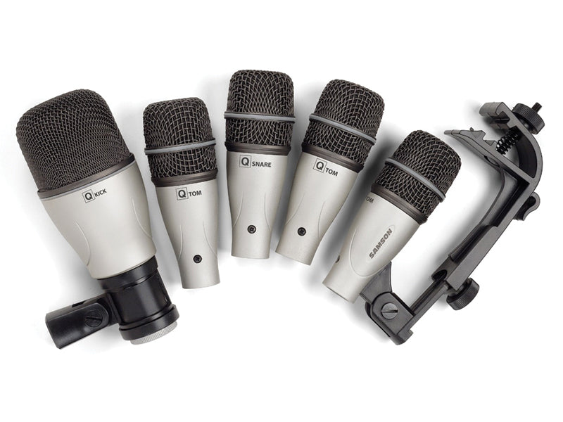 Samson 5 Piece Microphone Kit at the drumshop uk