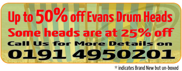 Evans drum heads sale