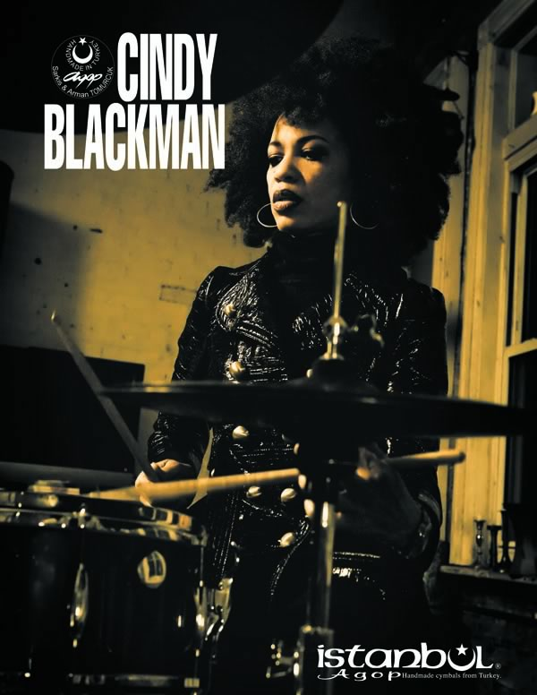Cindy Blackman cymbals Drumshop UK