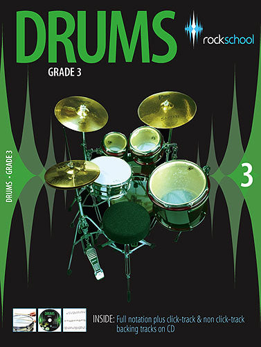 Rock School Grade 3 drumming book