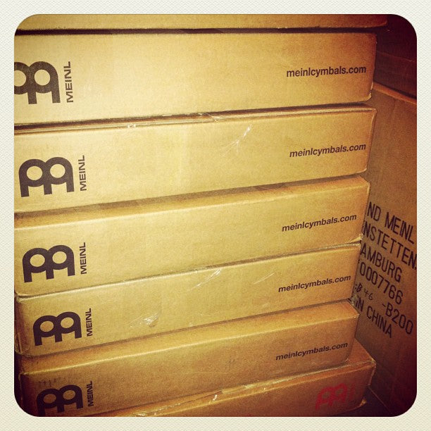 Meinl cymbals delivery!