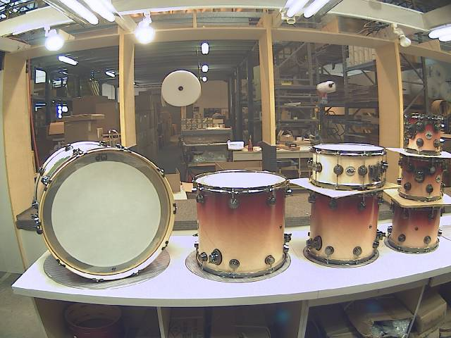 drum workshop arrives into the drum shop here in the uk