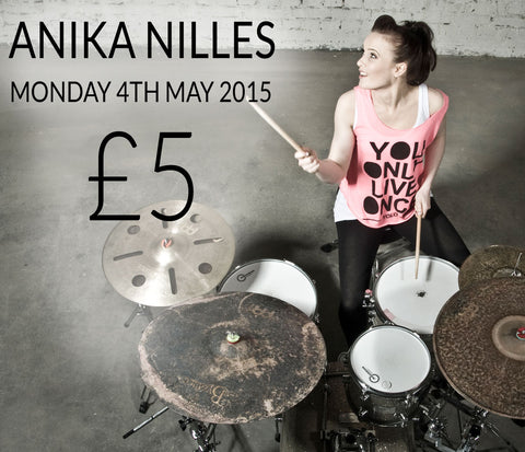 Anika Nilles Drum Clinic at DrumShop