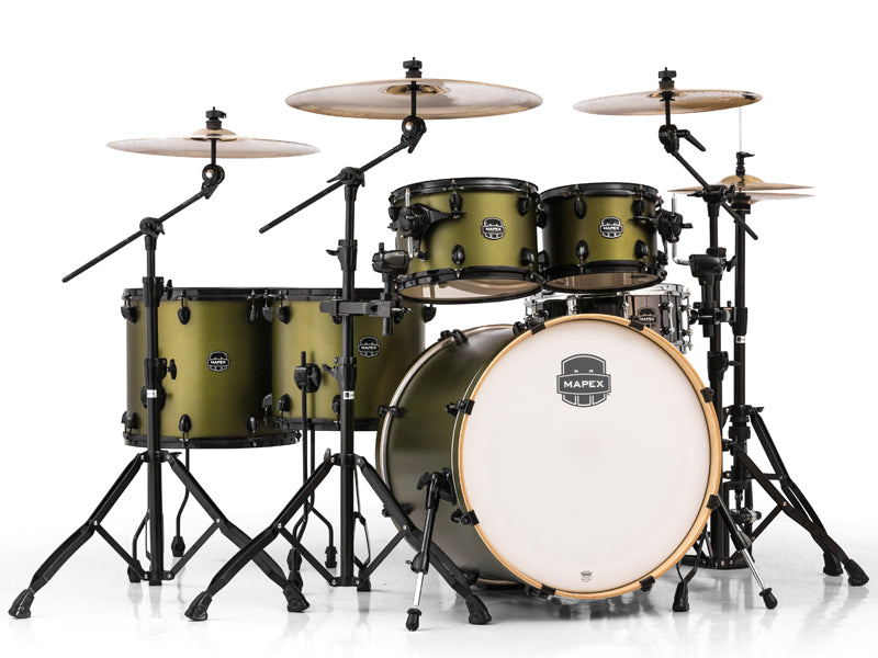 New Mapex Armory Mantis Green drum kit Drumshop UK