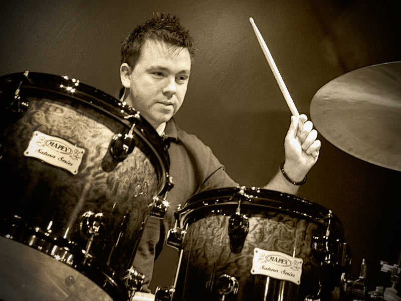 Mapex Saturn and Arron Walton