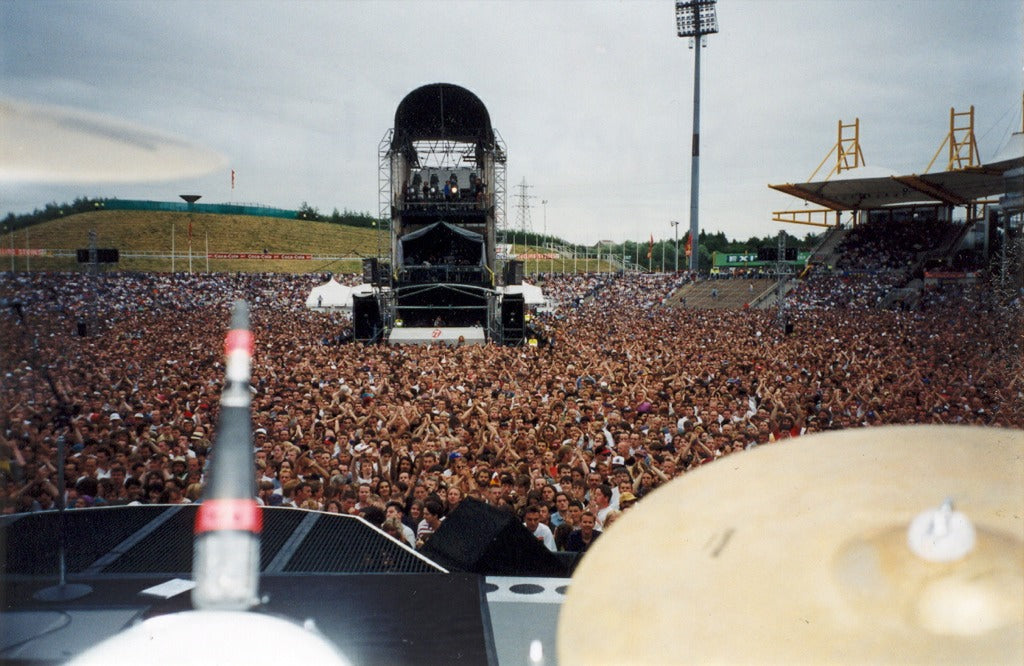 View from Ash Soan Drum Kit