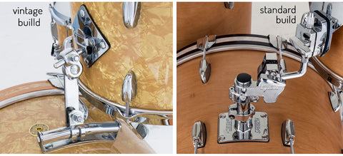 Gretsch Broadkaster Vintage and Standard Build