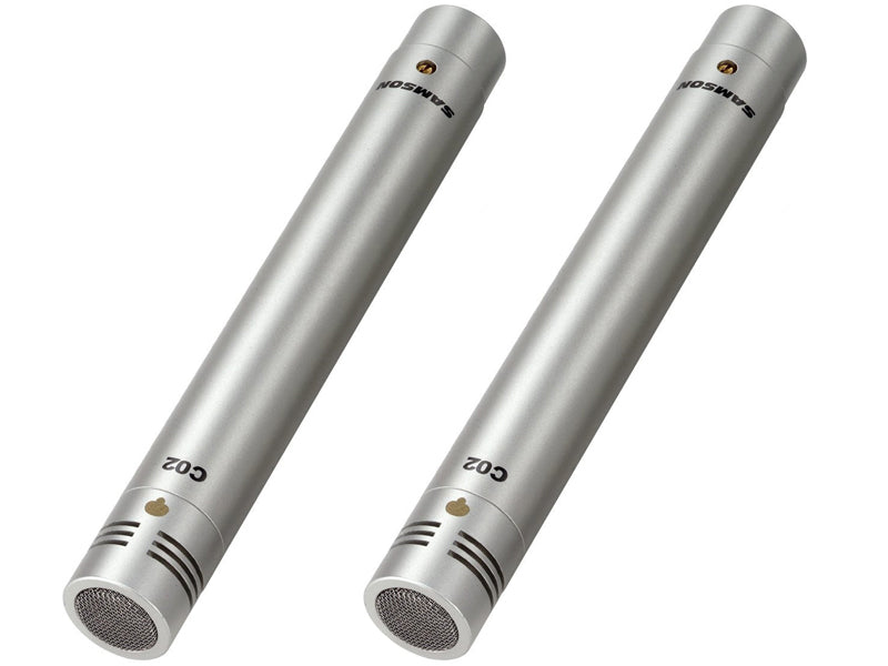 C02 Samson Pencil Microphones drumshop uk