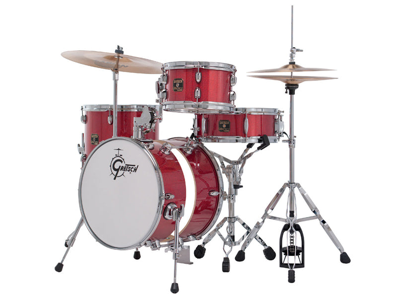 CC-S264X-TRS Catalina Street 4-Piece Drum Kit In Red Sparkle