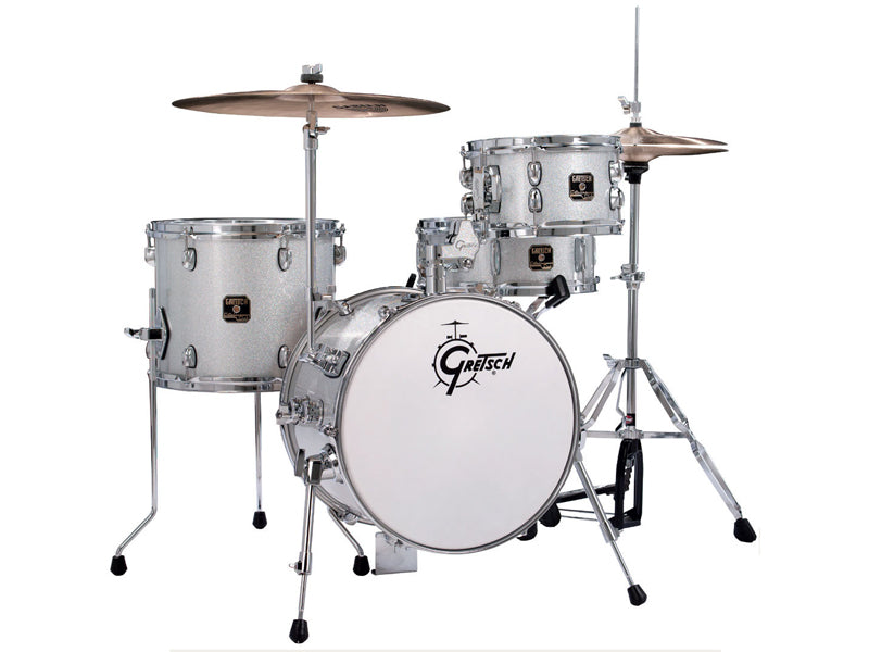 CC-S264X-TRS Catalina Street 4-Piece Drum Kit In Silver Sparkle