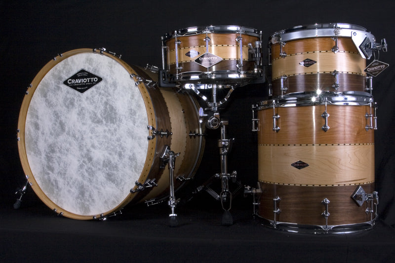 Craviotto 4-Piece drum kit at Drumshop UK