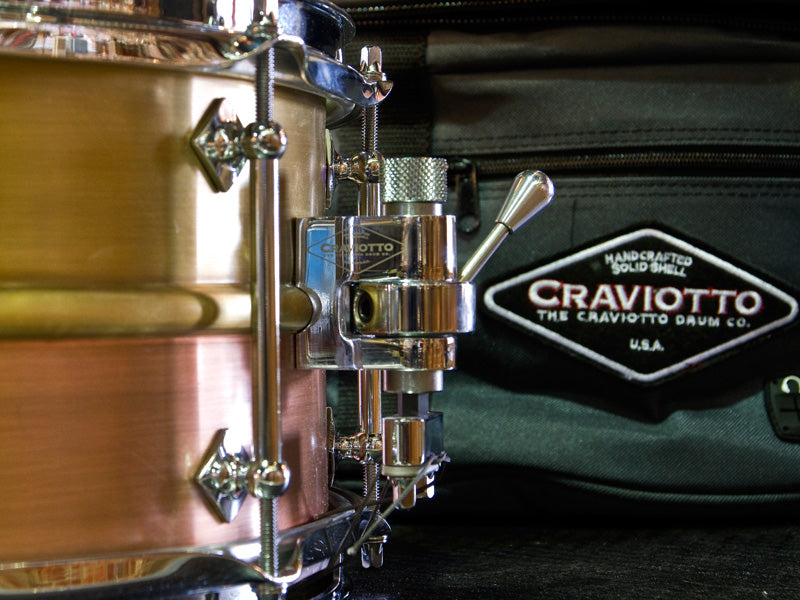 Craviotto Metal 14x6.5 snare drum
