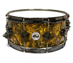DW Gold Abalone Snare Drum