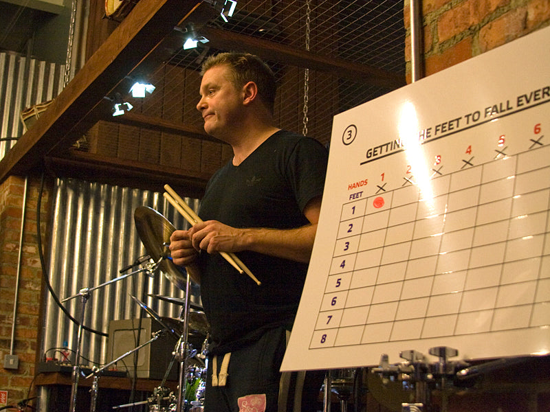 Craig Blundell Clinic at Drum Shop UK