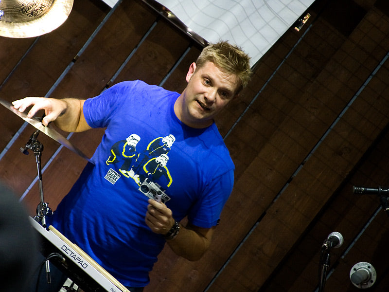 Craig Blundell at Drum Shop UK