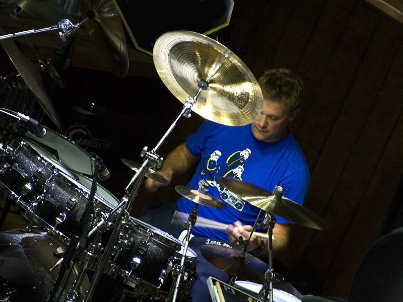 Craig Blundell playing at Drum Shop UK