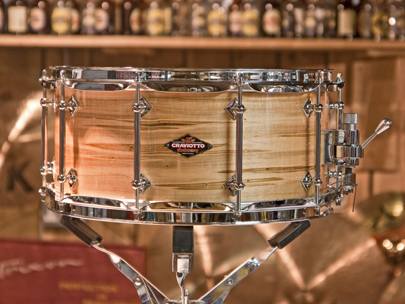 Craviotto snare drums at Drum Shop UK