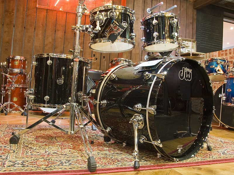 Drum Workshop Performance Black Mirra Drum Kit
