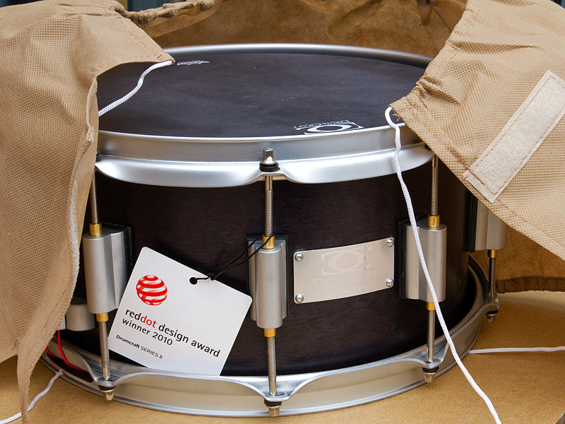 DrumCraft Delivery at Drum Shop UK Red Dot design winner 2010