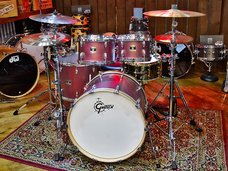 Gretsch Renown Maple Limited Edition Burgundy Satin