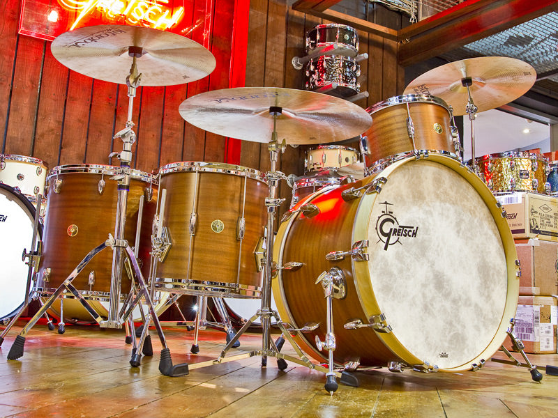 Gretsch Custom Select Drum Kits Arrive!