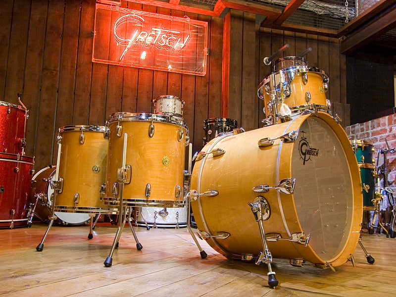 Gretsch 125th Anniversary Drum Kit in Natural Finish at Drum Shop UK
