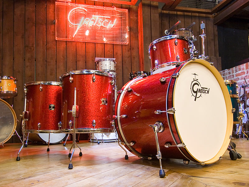 Gretsch Catalina Club Red Sparkle Drum Kit