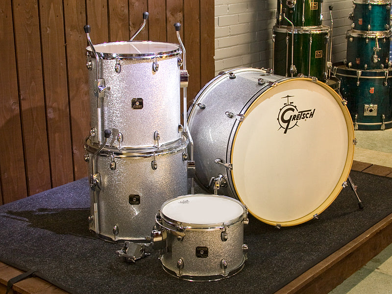 Gretsch Catalina Club Silver Sparkle Drum Kit