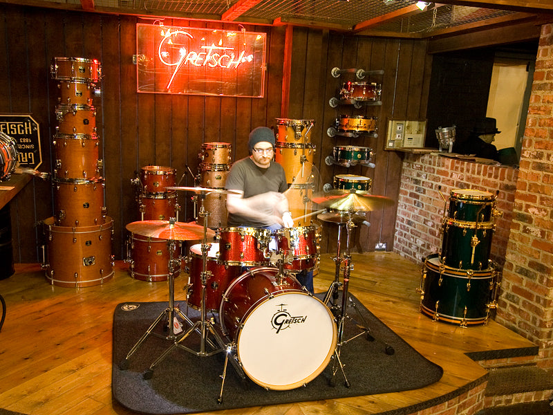 Gretsch drum kit in Red Sparkle at Drum Shop UK