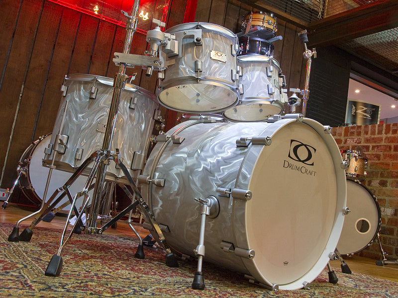 DrumCraft Series 7 Liquid Chrome Drum Kit